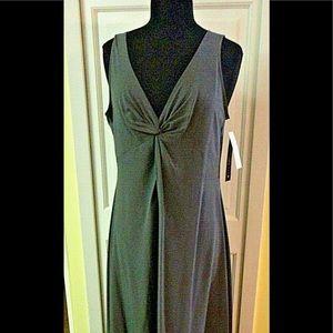 IC by Connie K dress greenish gray  sz L NWT